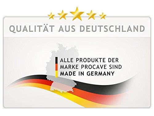 PROCAVE Bettkeil mit Bezug aus AloeVera-Doppeltuch  - Made in Germany